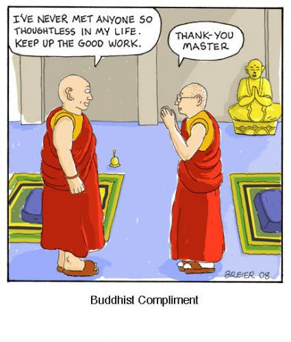 What do Buddhists believe